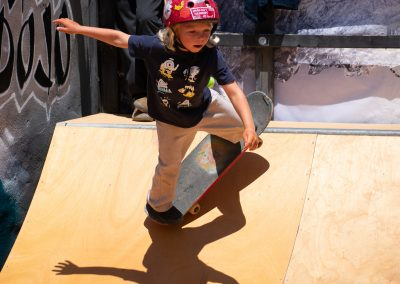 6 year old Jack Keet U8 Skateboard Champ