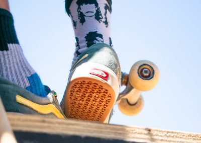 Skate-socks and wheels