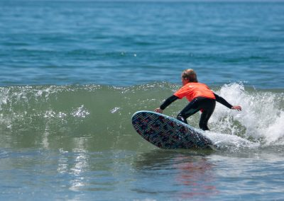 U10 Finalist Beckett Eason cranking the bottom turn