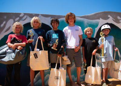 U12 Surf Finalists